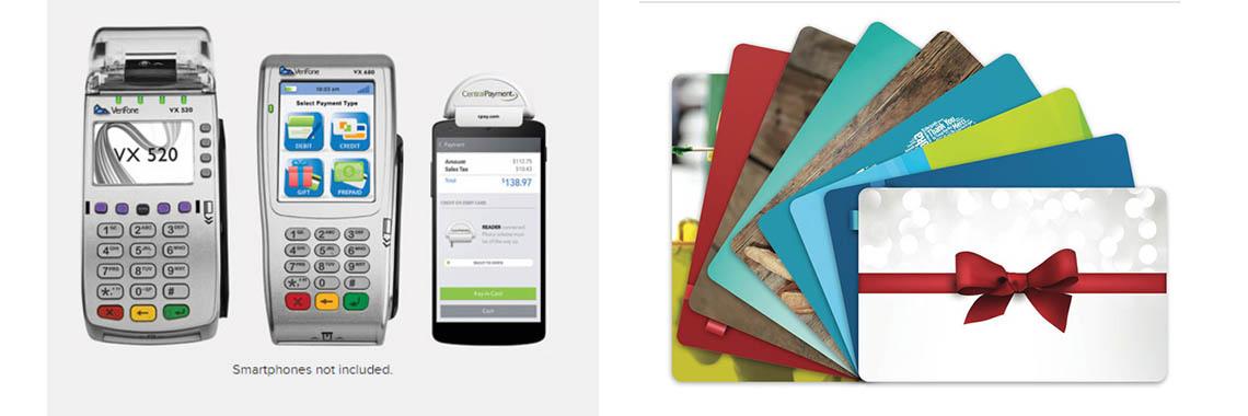 Merchant machine VX520 - VX680 - Giftcard